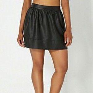 Black Leather Skirt 🖤